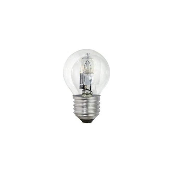 Bell ES/E27 45mm Energy Saving Lamp Clear Halogen Round Ball Bulb