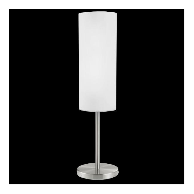 Eglo 85981 Troy3 1 Light Table Lamp Satin Nickel