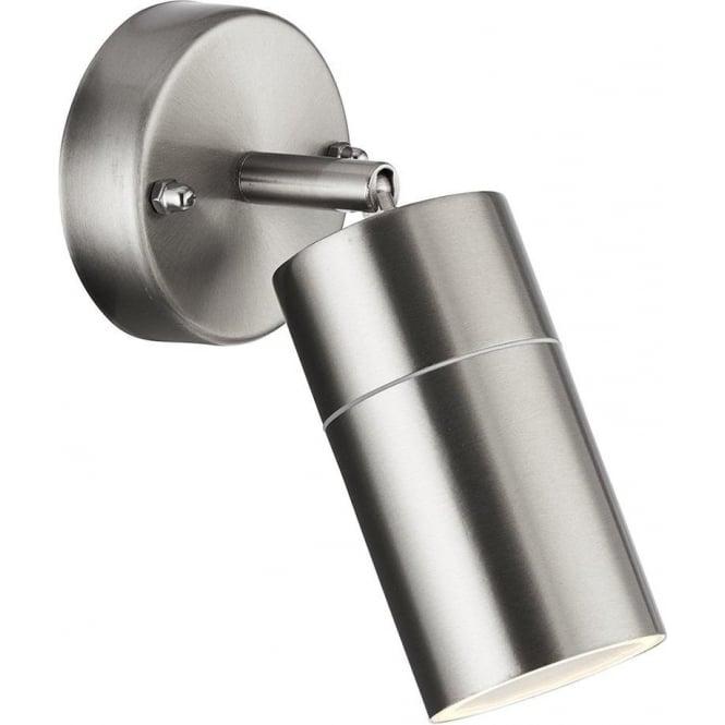 Searchlight 6411SS-LED Outdoor Lighting 1 Light Adjustable Spotlight Stainless Steel IP44
