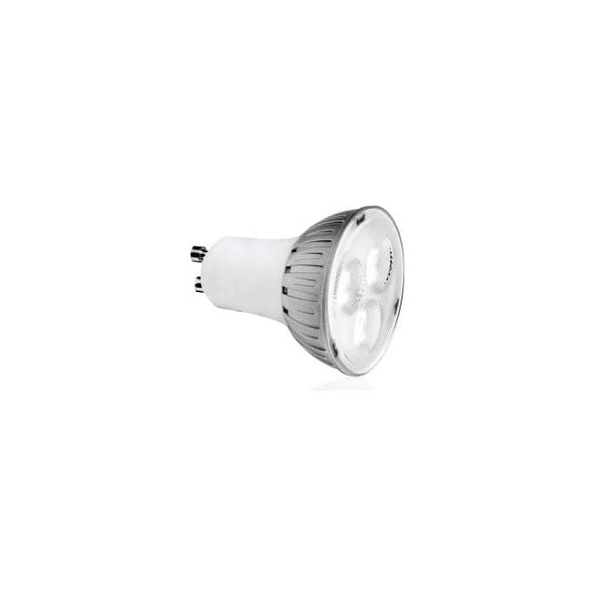 Aurora AU-DGU106A/30 Dimmable Mains GU10 38° 6w Led Lamp Warm White