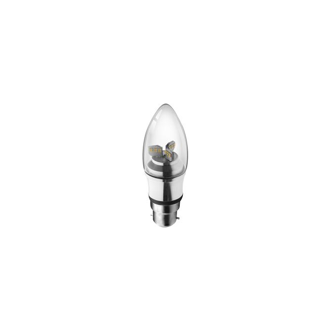 Kosnic KDIM04CND Mains LED 4 Watt Candle Lamp Dimmable
