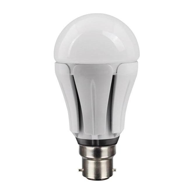 Bell Mains BC/B22 ES/E27 Dimmable LED 12 Watt GLS Pearl Bulb Warm White