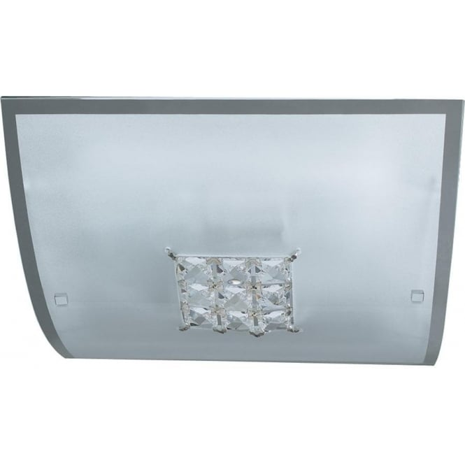 Searchlight 2150-30 Francesca 2 Light Flush Ceiling Light