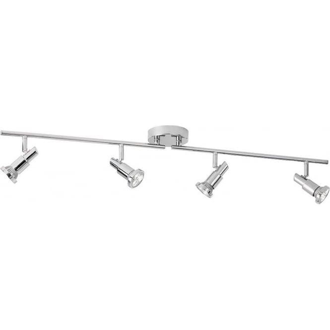 Searchlight 5344CC Torch 4 Light Ceiling Spotlight Polished Chrome