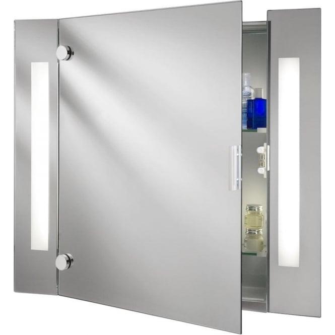 Searchlight 6560 Illuminated Mirrors 2 Light Wall Light Mirror