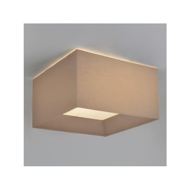Astro 7057 Bevel Square 550 Shade Flush Ceiling Light