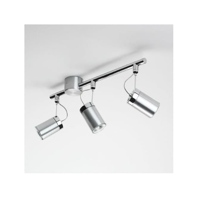 Astro 6009 Montana Triple 3 Light Ceiling Spotlight Brushed Aluminium