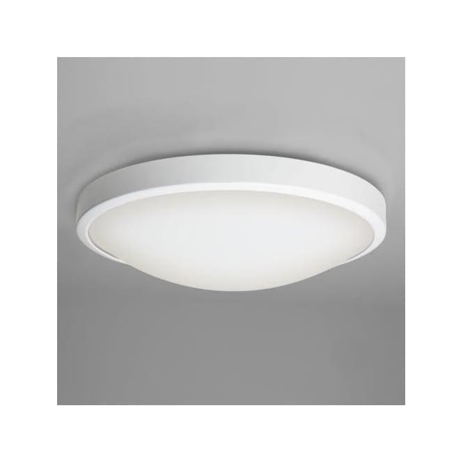 Astro 7383 Osaka 1 Light Flush Ceiling Light IP44 White