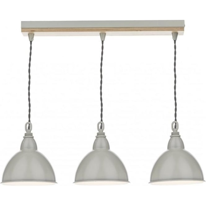 Dar BLY5343 Blyton 3 Light Bar Pendant Wooden/Cream