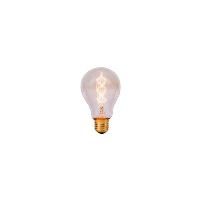 Bell 01488 ES/E27 60 Watt Vintage GLS Clear Squirrel Cage Bulb