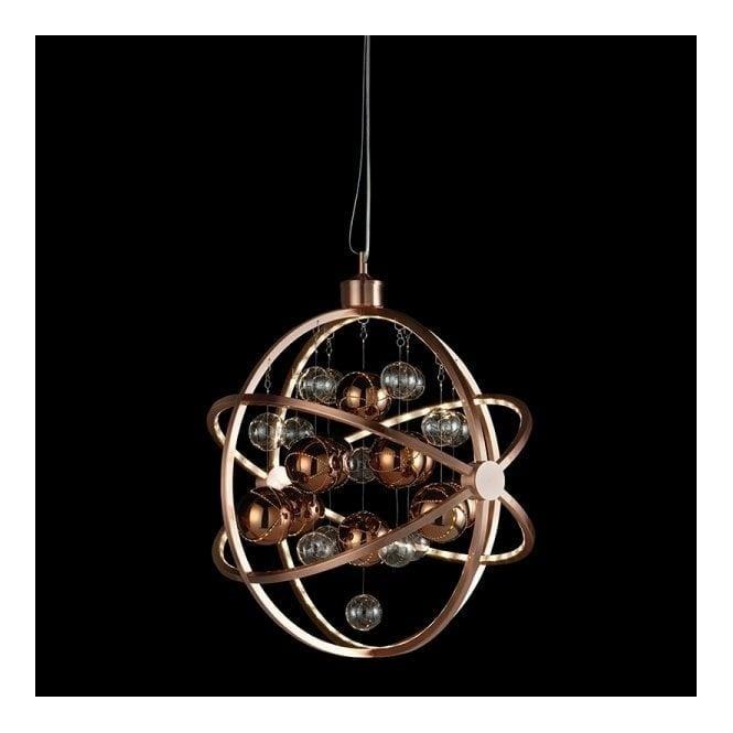 Endon MUNI-CO Muni LED Ceiling Pendant Copper