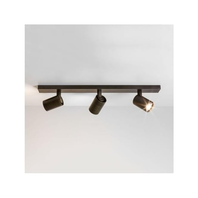 Astro 6147 Ascoli Triple Bar 3 Light Spotlight Bronze
