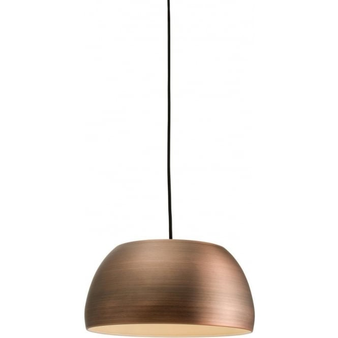 Endon 64567 Connery 1 Light Ceiling Pendant Matt Bronze