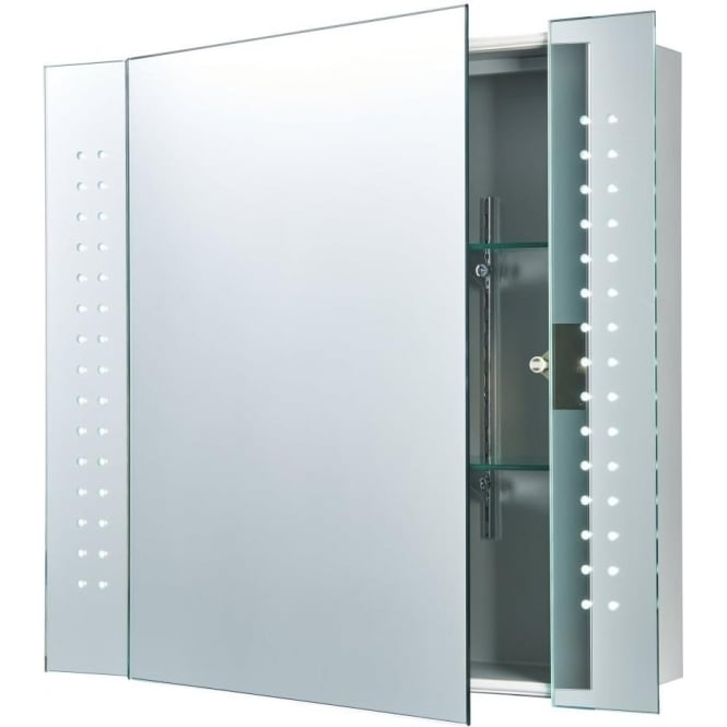 Endon 60894 Revelo LED Bathroom Mirror Cabinet IP44