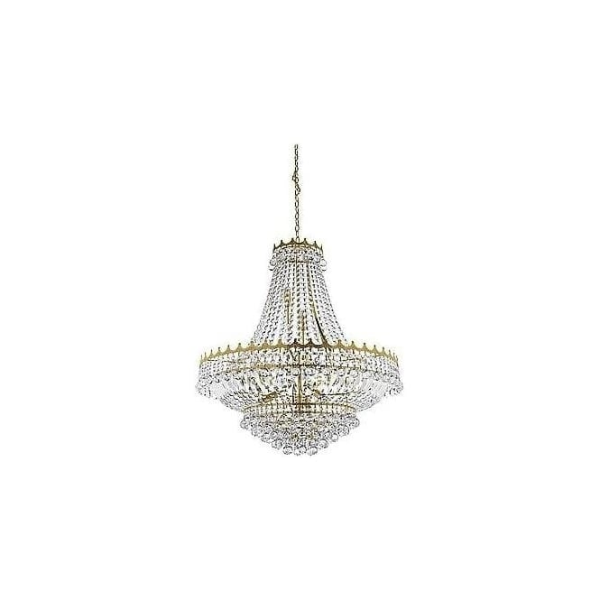 Searchlight 9112-82GO Versailles 13 Light Chandelier Gold
