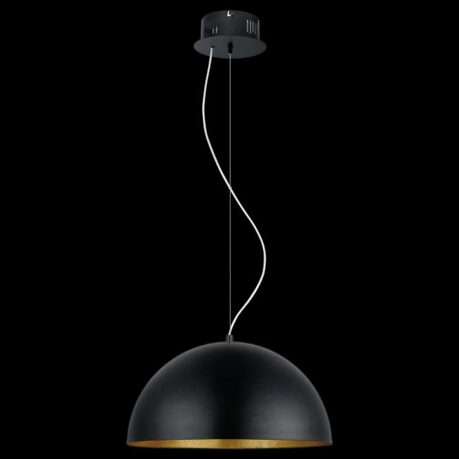 Eglo 94228 Gaetano 1 Light LED Ceiling Pendant Black/Gold