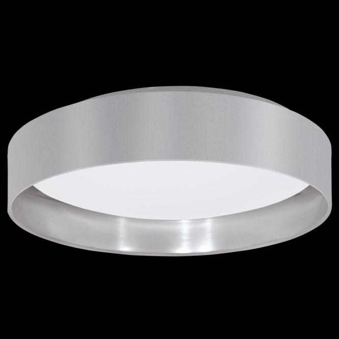 Eglo 31623 Maserlo LED Ceiling Light Glossy Grey