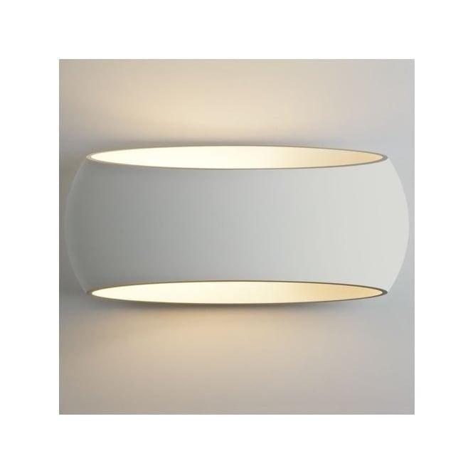 Astro 7107 Aria 370 1 Light Wall Light Plaster