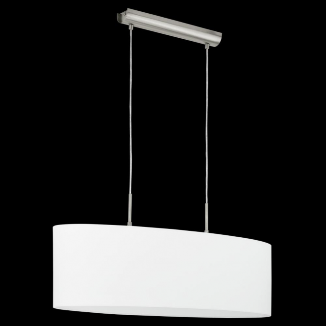 Eglo 31579 Pasteri 2 Light Pendant White