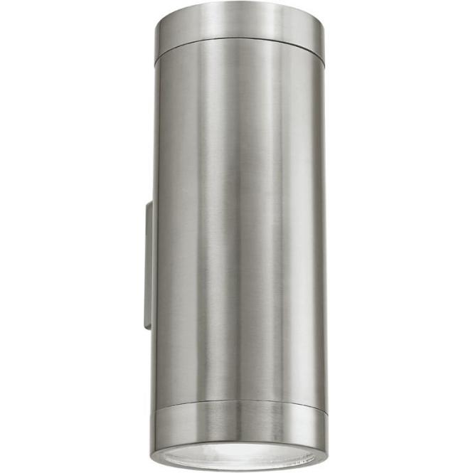 Eglo 90121 Ascoli 2 Light IP44 Wall Light Stainless Steel