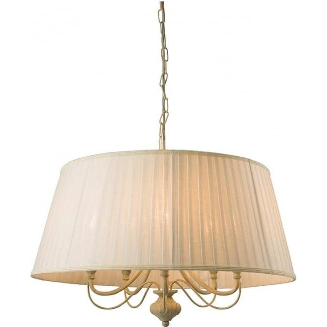 Endon 60934 Chester 5 Light Ceiling Light Brushed Gold