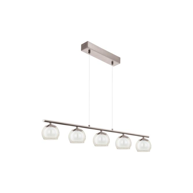 Eglo 94319 Ascolese 5 Light Ceiling Pendant Satin Nickel