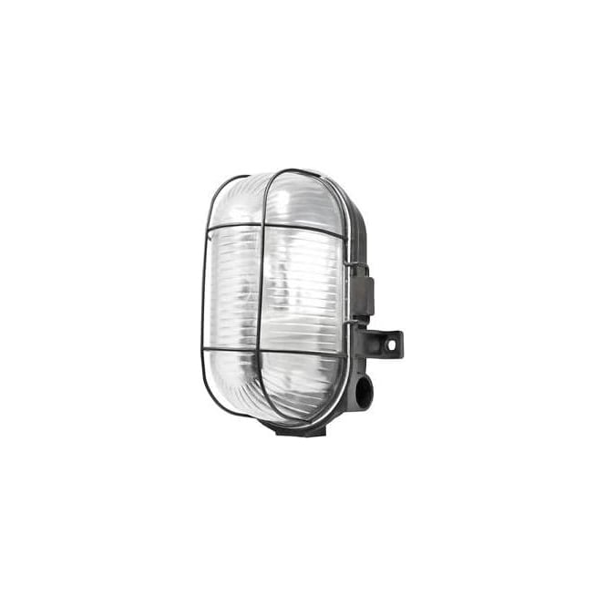 Power Master S5879 S5880 Outdoor Oval Caged Bulkhead