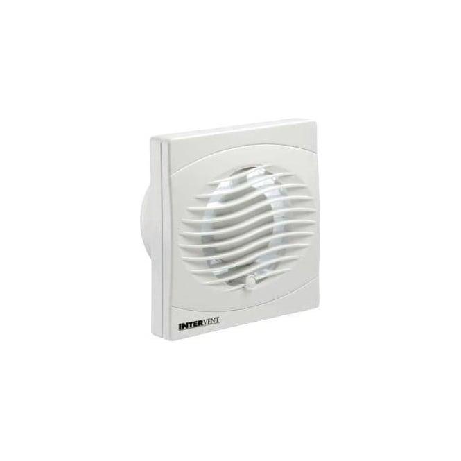 Manrose BVF100T Bathroom/Shower/Toilet Timer Extractor Fan 100mm White Finish
