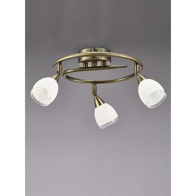 Franklite SPOT8983 Lutina 3 Light Spotlight Bronze