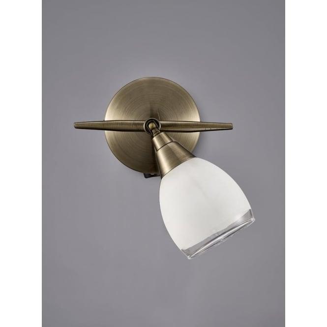Franklite SPOT8981 Lutina 1 Light Switched Spotlight Bronze