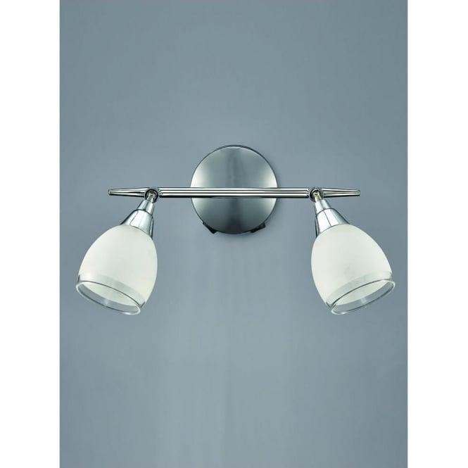 Franklite SPOT8962 Lutina 2 Light Switched Spotlight Chrome