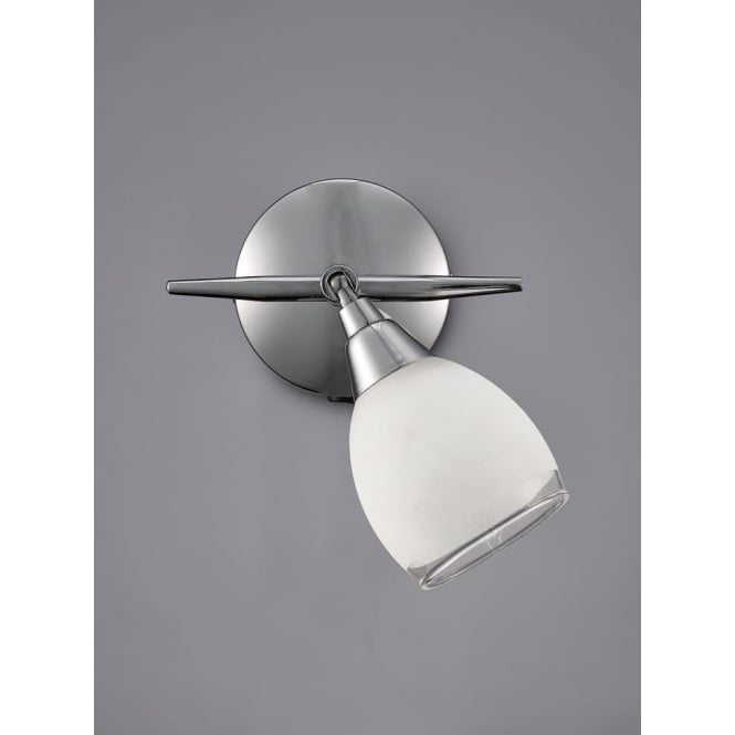 Franklite SPOT8961 Lutina 1 Light Switched Spotlight Chrome