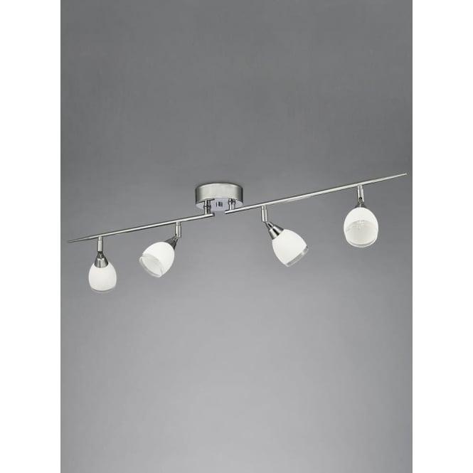 Franklite SPOT8964 Lutina 4 Light Spotlight Chrome