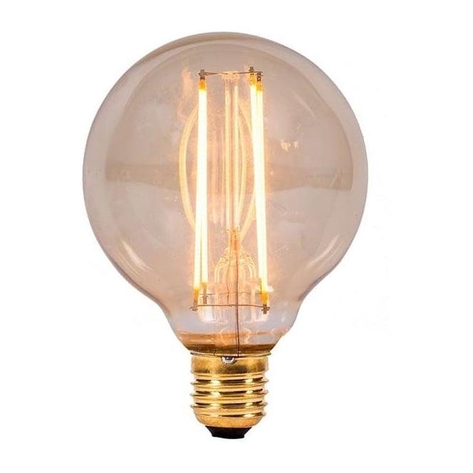 Bell ES/E27 BC/B22 LED 4 Watt Vintage Globe Amber Bulb