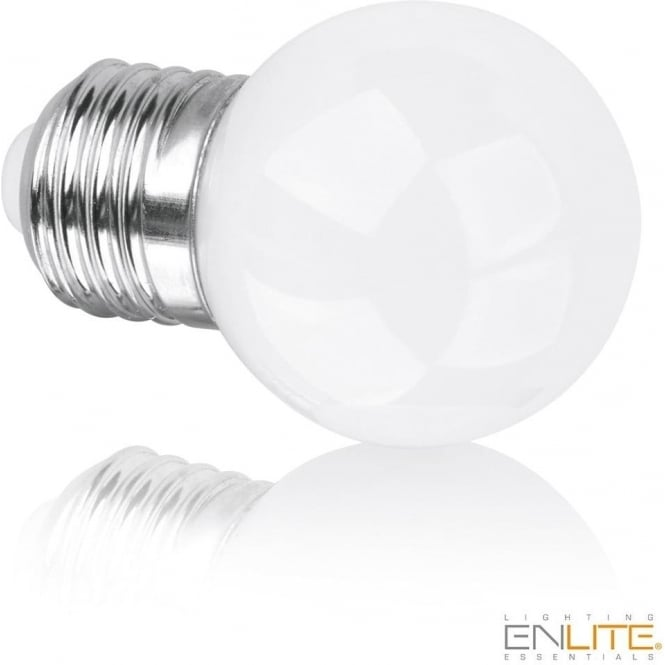 Enlite EN-DG45E145/27 SES/E14 ES/E27 5w 360° LED Golf Ball Lamp Warm White Dimmable