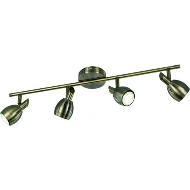 Franklite SPOT9014 Tivoli 4 Light Ceiling Light Bronze