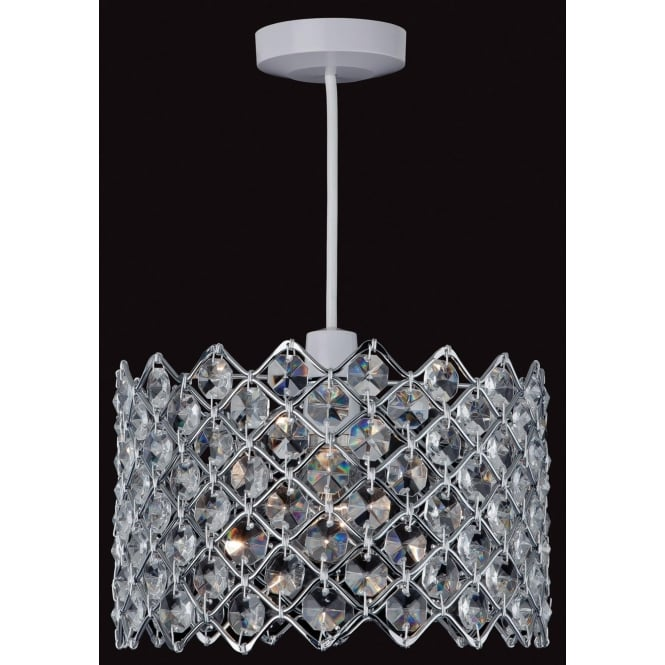 FirstLight 8112CH Easy-Fit Non-Electrical Pendant Polished Chrome