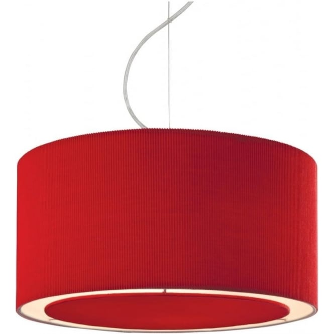 FirstLight 8311RE Clio Ceiling Pendant Light Red