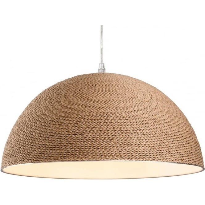 FirstLight 3440 Coast 1 Light Ceiling Pendant Brown