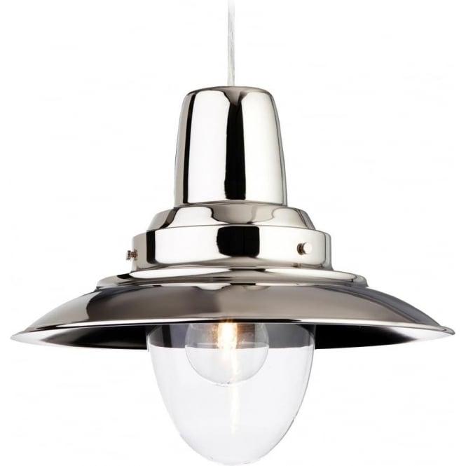 FirstLight 8645CH Fisherman 1 Light Ceiling Polished Chrome