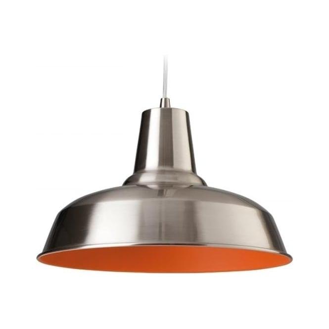 FirstLight 8623BSOR Smart 1 Light Ceiling Brushed Steel