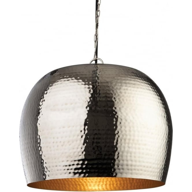 FirstLight 8671NC Assam 1 Light Pendant Nickel