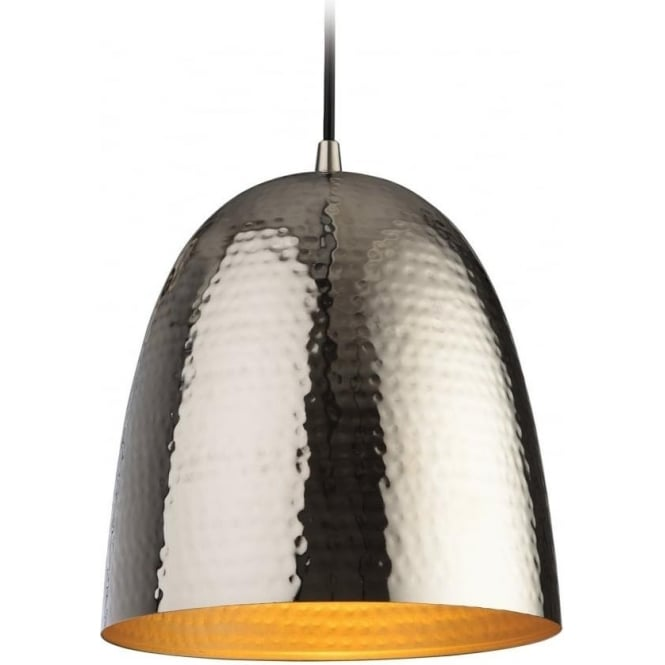 FirstLight 8673NC Assam 1 Light Pendant Nickel
