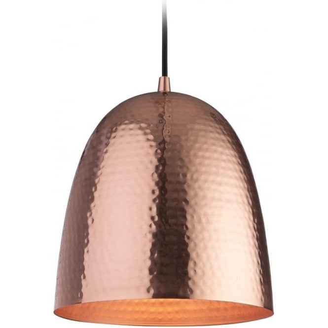 FirstLight 8674CP Assam 1 Light Pendant Copper