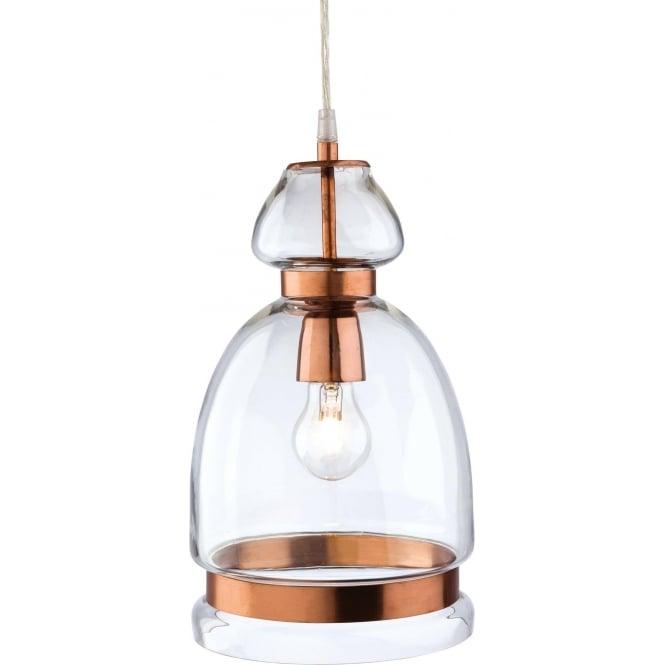 FirstLight 2349CP Craft 1 Light Pendant Copper