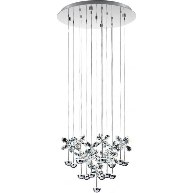 Eglo 93662 Pianopoli LED Ceiling Pendant Polished Chrome
