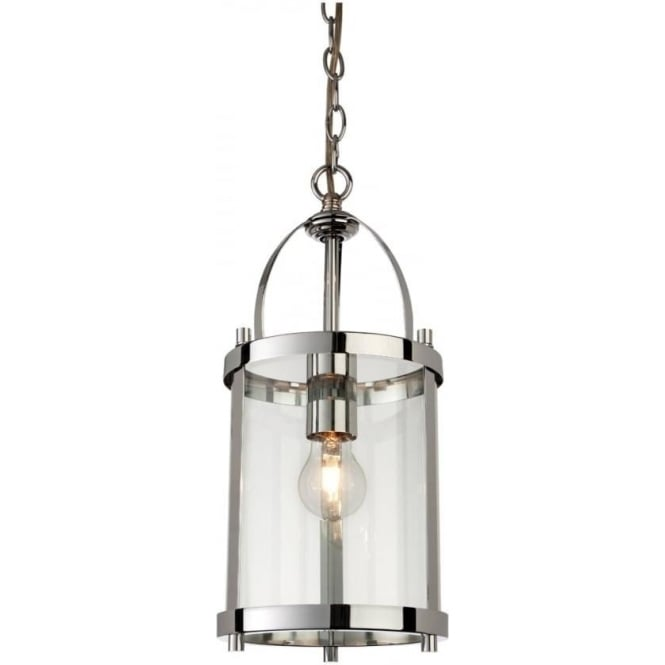 FirstLight 8300CH Imperial 1 Light Lantern Pendant Polished Chrome