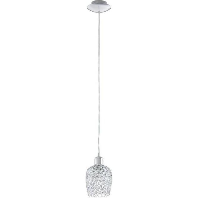 Eglo 94896 Bonares 1 Light Ceiling Light Polished Chrome