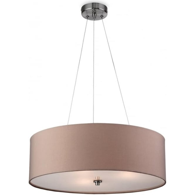 FirstLight 2314TA Phoenix Ceiling Pendant Light Taupe