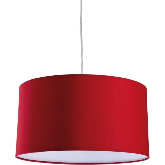 FirstLight 8630REWH Zeta Ceiling Pendant Red